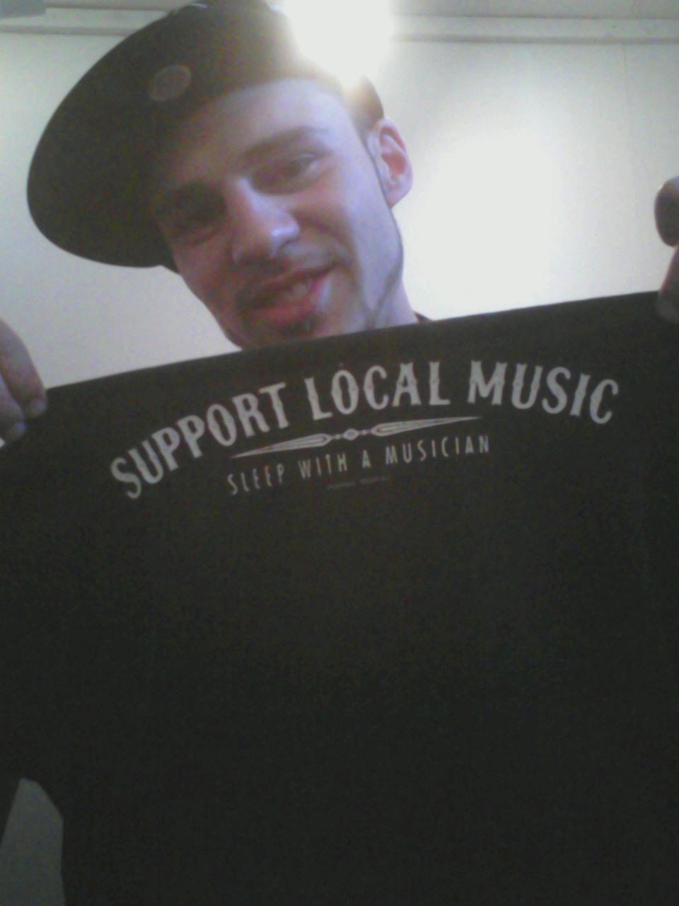 DO WHAT THE SHIRT SAYS!! SUPPORT LOCAL MUSIC!